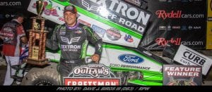 Donny Schatz Earns WoO Sprint Victory & Podium During Two-Race Stretch In Home State