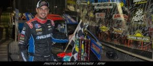 Stewart Friesen Stays The Course; Strong & Steady In Short Track Super Series Win At Outlaw