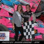 Alysha Bay Beats Rain To Seal First CRSA Sprint Win At Land Of Legends