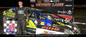 Raabe On A Roll With Third Straight 358-Mod Win At Mohawk