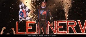 Hometown Hero Michael Norris Crushed Friday's Firecracker 100 Feature At Lernerville