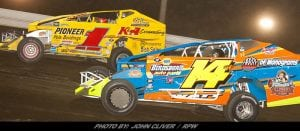 """Billy """"The Kid"""" Shows Them The Way Saturday At Bridgeport Speedway"""
