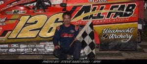 Strunk Takes Saturday Night's Feature At Grandview Speedway