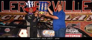 "Chris Madden ""Smokes"" The Field Saturday To Win 12th Annual Firecracker 100 At Lernerville"