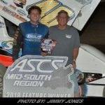 Howard Moore Wins ASCS Mid-South Speedweek Opener At Riverside