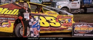 Tim Sears Jr. Takes Victory Friday Night At Brewerton Speedway