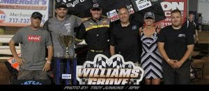 West Coast Residents Trey Starks, Rico Abreu, Steal The Show At Williams Grove's PA Speedweek Opener