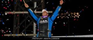 Jameson Notches First Lucas Oil Late Model Dirt Series Triumph At Portsmouth