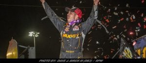 David Gravel Uses Brilliant Double-File Restart To Win Knoxville WoO Sprint Thriller