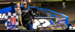Tim Hartman Jr. Grabs Another One Sunday Night At Glen Ridge