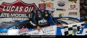 Don O'Neal Dominates Lucas Oil Late Model Dirt Series Event At Mansfield
