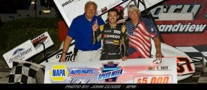 410 Sprint Cars Roll Into Grandview Tuesday; Can Kyle Larson Defend His Race Win?