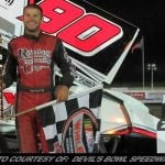 Matt Tanner Takes Sprint Car A-Main Tuesday Night At Devil's Bowl Speedway
