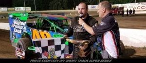 Jerry Higbie Tames Short Track Super Series Field In Battle Of The Bullring At Accord