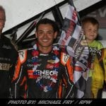 Kyle Larson Repeats In PA Sprint Speedweek Event At Grandview Speedway
