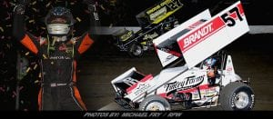Kyle Larson & Jeff Strunk Show The Way In Thunder On The Hill Show At Grandview