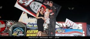 Wolfe Gets By Dietrich For Port Royal July 4th Sprint Speedweek Win