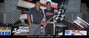 Chuck Hebing Strikes Thursday Night At Land Of Legends; Wins Night Two Of CNY Speedweek