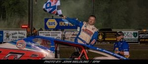 Jimmy Phelps Finally Gets Victory At Brewerton Speedway