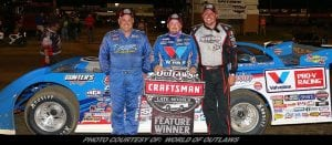 Sheppard Collects World of Outlaws Win No. 7 At Dubuque Speedway