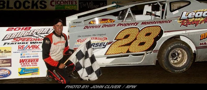 Bubba Raceway Park >> Richie Pratt Parks Modified In Victory Lane At Bridgeport – Race Pro Weekly