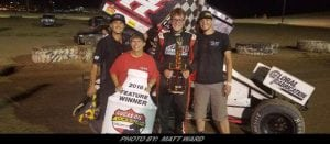 Chris Martin Breaks Through With ASCS Sprint Car Series In Wyoming