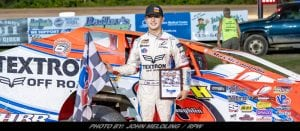 Max McLaughlin Keeps Hot Streak Going With Brewerton Speedway Win