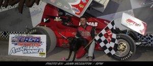 Matt Tanner Tames Albany-Saratoga To Take CRSA Sprint Payday