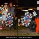 Allan Wills & Cory Sawyer Score Big In Feature Events At Ransomville Friday
