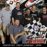Rahmer Wins Wheel-Banging Battle With Hodnett At Williams Grove Friday