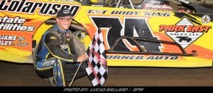 Heffner Grabs First Win Of 2018 In King Of The Track Event At Lebanon Valley