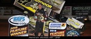 Hodnett Takes Sunday Night Sprint Special At BAPS Motor Speedway