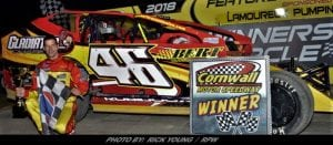 Robidoux, Ladouceur, Beauchamp & Potvin Winners Sunday At Cornwall