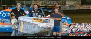 Erick Rudolph Makes Late Race Pass To Claim 358-Modified Win At Utica-Rome