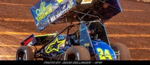 Rico Abreu Charges Hard To Top Ten Finish At Eldora's Kings Royal