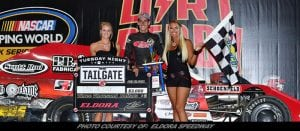 Cook & Pardo Win Big At Eldora's Tuesday Night Tailgate