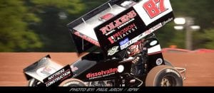 Aaron Reutzel Passes Cole Duncan Late For All Star Sprints Victory At Eriez Speedway