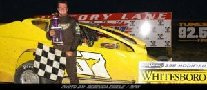 Rylee Gill Was The Man To Beat Friday Night At Can-Am