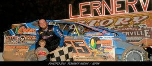 Rex King Jr Capitalizes At Lernerville En Route To Mod Tour Victory
