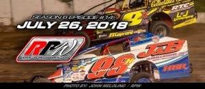 Race Pro Weekly TV: Season 6 Episode #14 – July 26, 2018