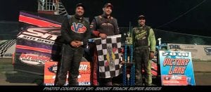 """Jeremy Smith Takes Home Short Track Super Series """"Afton Action 50"""" In Front Of Hometown Fans"""