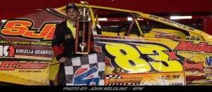 Tim Sears Jr. Takes Home 100-Lap DIRTcar 358-Modified Series Event Friday At Brewerton