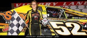 """Jessica """"Powers"""" Her Way To Victory Friday At Can-Am"""