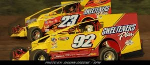 Sheppard, Tanner & Hebing Big Winners On Night One Of Outlaw Speedway Summer Nationals