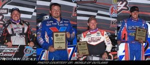 Simpson, Sheppard, Moran & Babb Grab Showdown Qualifier Feature Wins At Prairie Dirt Classic