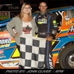 Ryan Watt Is Electric Saturday Night At Bridgeport Speedway