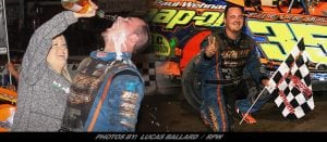 "RPW Exclusive: LJ Lombardo Gets ""Much Needed"" Victory Saturday At Lebanon Valley Speedway"