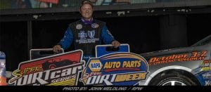 Erick Rudolph Dominates To Win Hall of Fame 100 Super DIRTcar Series Race At Weedsport