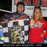 Drellos Is A First Time King Of Dirt Winner; Takes 358-Mod Event At Devil's Bowl