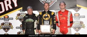 Kennedy Holds Off Swindell To Win Night One Of 28th Knoxville 360 Nationals